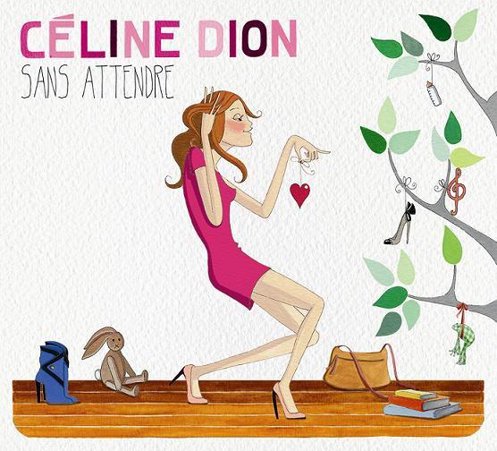 Céline Dion dévoile la pochette et la tracklist de ''Sans attendre''