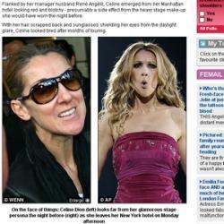 Céline Dion prise en photo avec le tueur de Montréal
