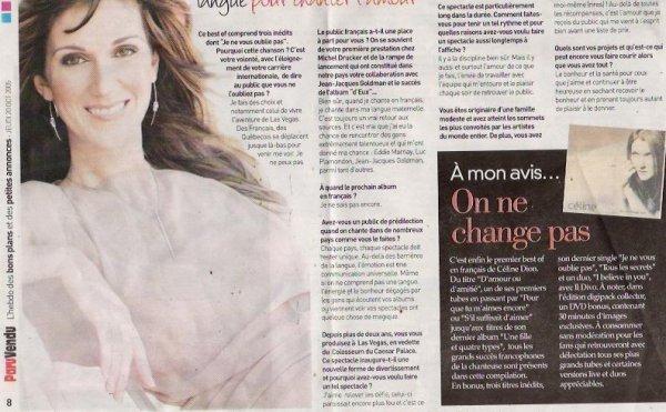Céline Dion approchée par le tueur de Montréal