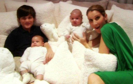 Céline Dion aimerait avoir un autre enfant