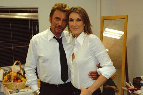 Céline Dion & Johnny Hallyday: écoutez leur duo L'amour peut prendre froid !