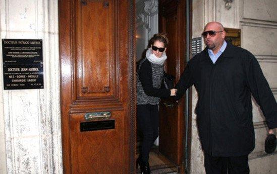 Céline Dion se rue chez son médecin parisien