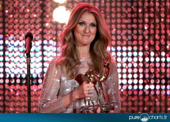 Céline Dion aux Bambi Awards : photos