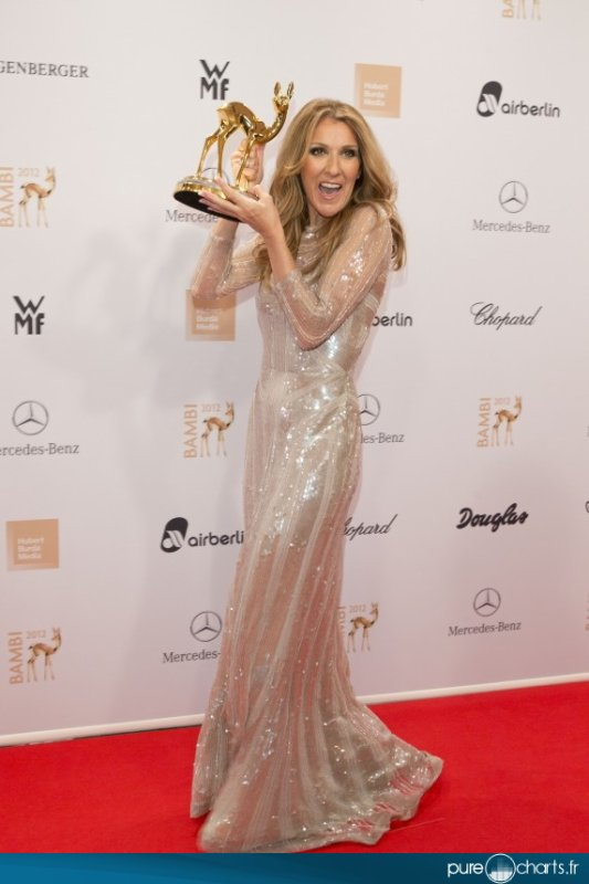 Céline Dion aux Bambi Awards : photos suite