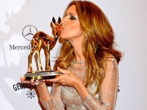 Céline Dion récompensée en Allemagne