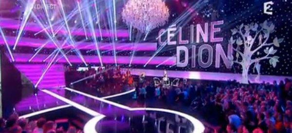 Céline Dion a rassemblé près de 5 millions de téléspectateurs samedi sur France 2 !