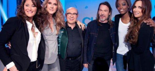 Record d'audience pour Chabada avec Céline Dion hier sur France 3