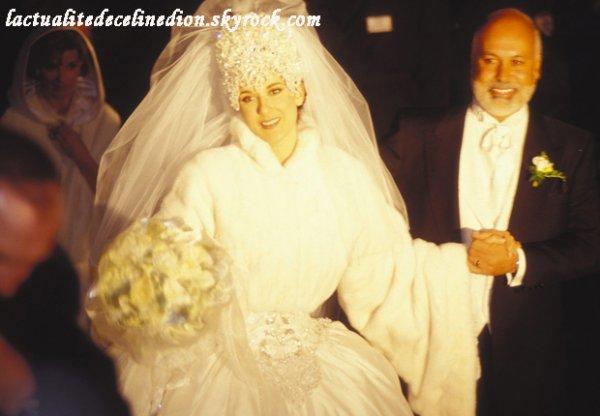 Leur mariage le 17 décembre 1994