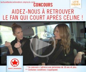 Concours L'ÉTÉ INDIEN : participez à l'enregistrement avec Céline