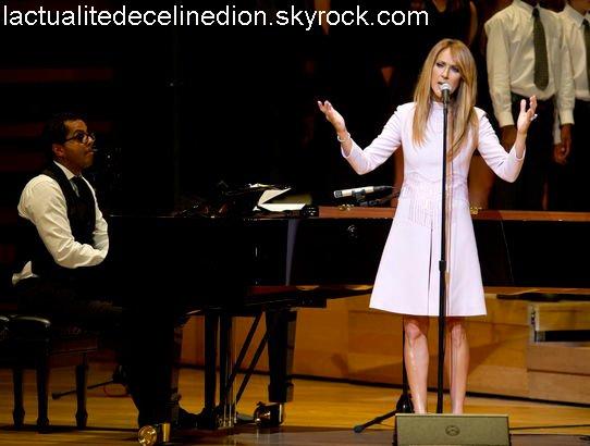 Céline Dion, avec émotion (photos)