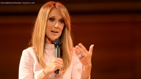 Céline Dion chante pour Sainte-Justine