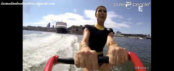 Céline Dion : Son invraisemblable arrivée... en ski nautique pour L'Eté indien !