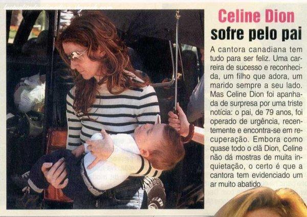 Céline Dion souffre