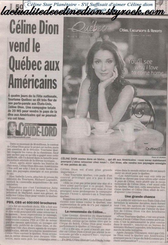 Scan de Céline Dion !