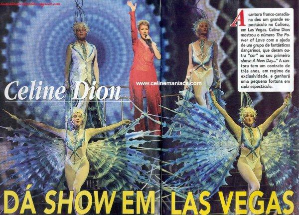Le spectacle à Las Vegas