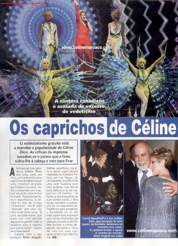 Les caprices de Céline