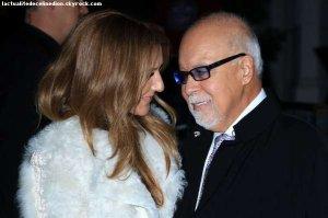 Selon Céline Dion, son mari est « fort et battant »