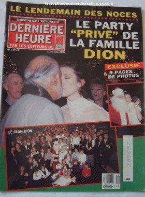 Céline Dion s'adresse aux personnes atteintes de cancers