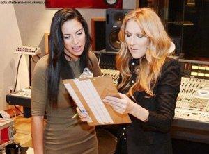 Céline Dion en collaboration avec... Zaho !