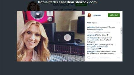 Céline est maintenant sur Instagram!