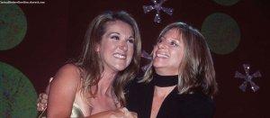 Barbra Streisand à Céline Dion: « Tu verras René dans le visage de tes enfants »