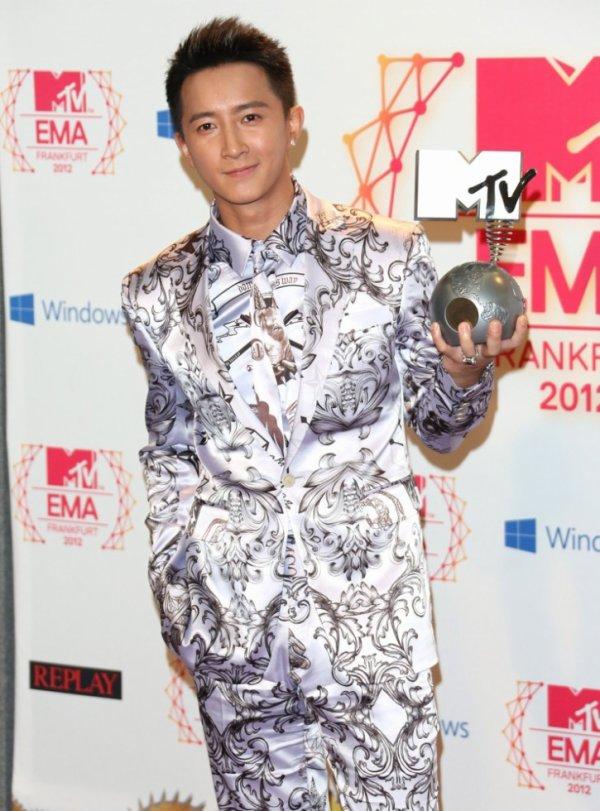 EMA 2012 HanGeng a gagné a Wolrd Wide Act