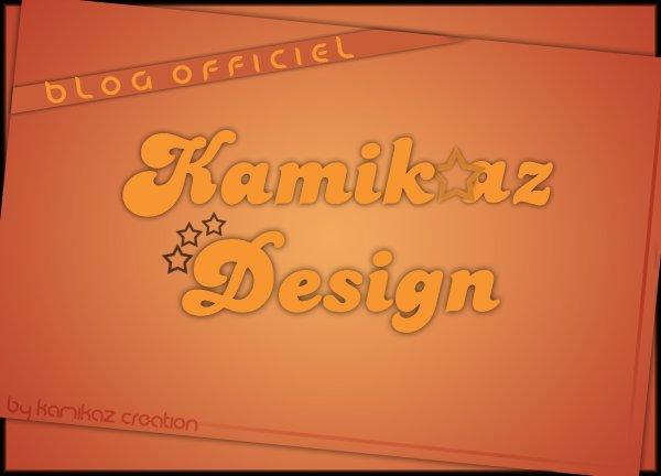 Bienvenue sur le blog de kamikazDesign ! ! !