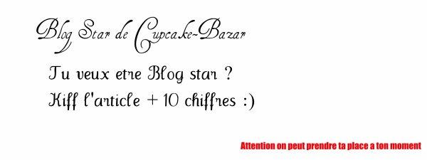 Blog star .