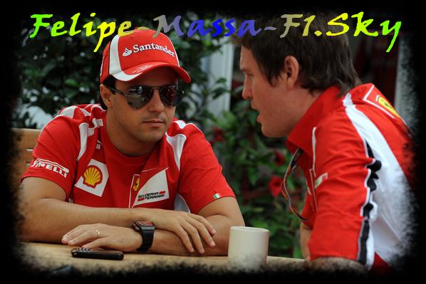 Samedi - Gp de Montréal - Canada : Interview de Felipe Massa.