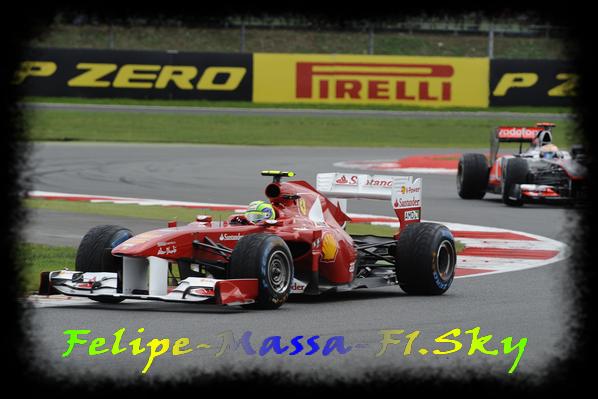 Felipe Massa ne reproche rien à Hamilton pour le dernier virage.