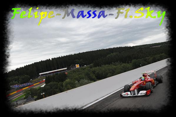Vendredi - essais libres 1 du Gp de Spa Francorchamps - Belgique.