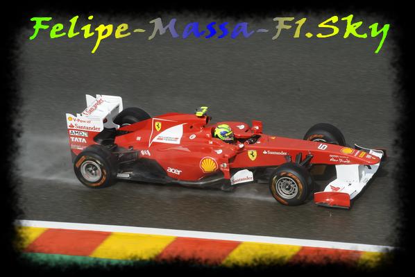 Samedi - essais libres 3 du Gp de Spa Francorchamps - Belgique.