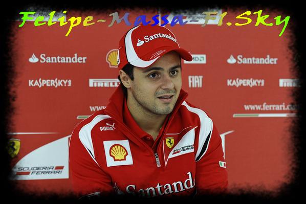 Jeudi - Preview de Felipe Massa du Gp de Monza - Italie.