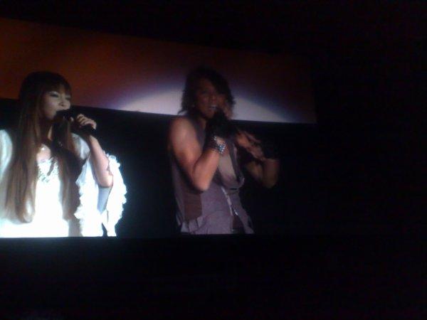 NoB était présent à la Saint Seiya Night : SAINT SEIYA Omega World Premiere hier, le vendredi 30 mars 2012