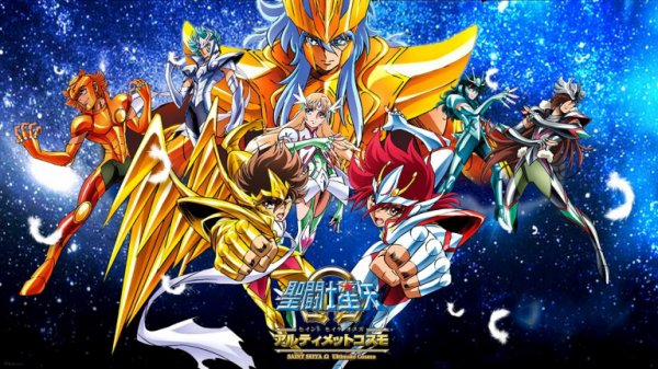 INFO EN OR :    Saint Seiya The Lost Canvas revient avec Toei Animation