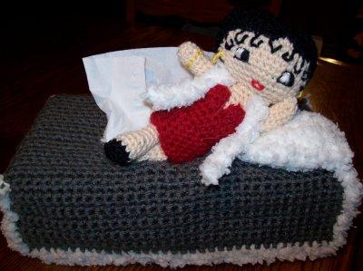 Boîte à mouchoirs Betty Boop