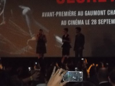 Avant Première Abduction with TAYLOR LAUTNER !!! et Lily Colins