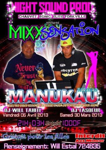 Méga la soirée demain avec DJ Tasoeur