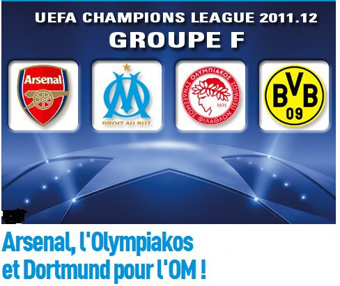 tirage au sort  champions leagues