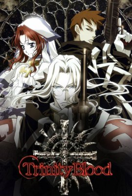 """Trinity Blood 1"" de Sunao Yoshida et Kiyo Kyujyô"