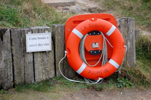 Petit clin d'oeil pour pas oublier que la mer est dangereuse :-)