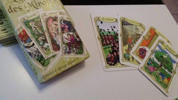 L'Oracle des miroirs - Cartes divinatoires
