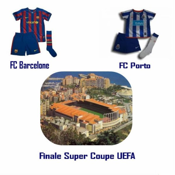 Finale super coupe UEFA