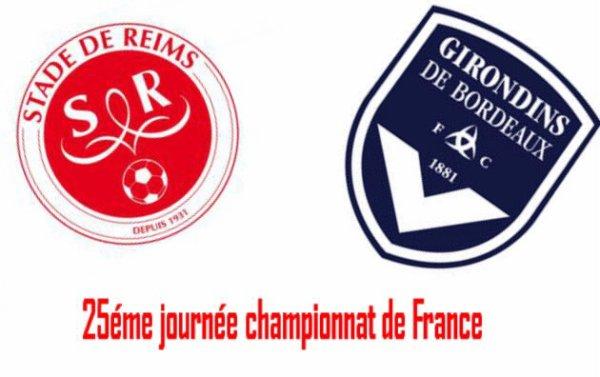 25éme journée championnat Ligue1
