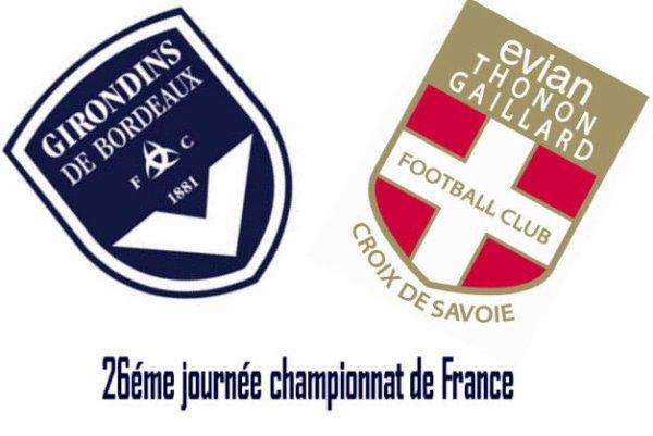 26éme journée championnat Ligue1