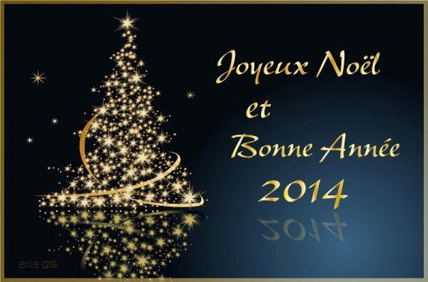 Joyeux Noel à tous et bonnes fêtes de fin d'année ! ;) <3