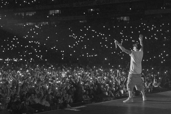 Quelque photo des concert qu'avait fait Eminem ! Numéro7