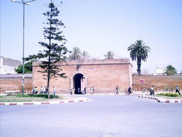 la casbah de Fédala (Maroc)