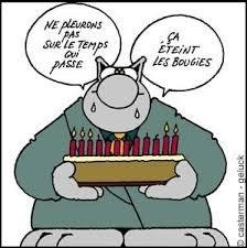 Merci à tous ceux qui m'ont souhaité mon anniversaire.