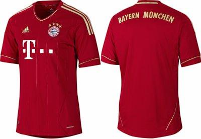 Voici le maillot de bayern munchen!